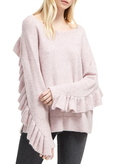 French Connection Emilde Ruffle Detail Sweater