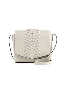 French Connection Emory Whipstitch Flap Crossbody Bag