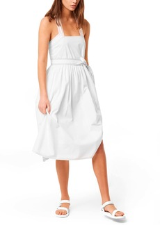 French Connection Enisa Belted Cotton Poplin Sundress