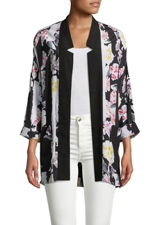 French Connection Enoshima Floral Suiting Jacket