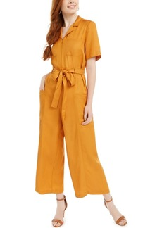 French Connection Enzo Belted Wide-Leg Jumpsuit