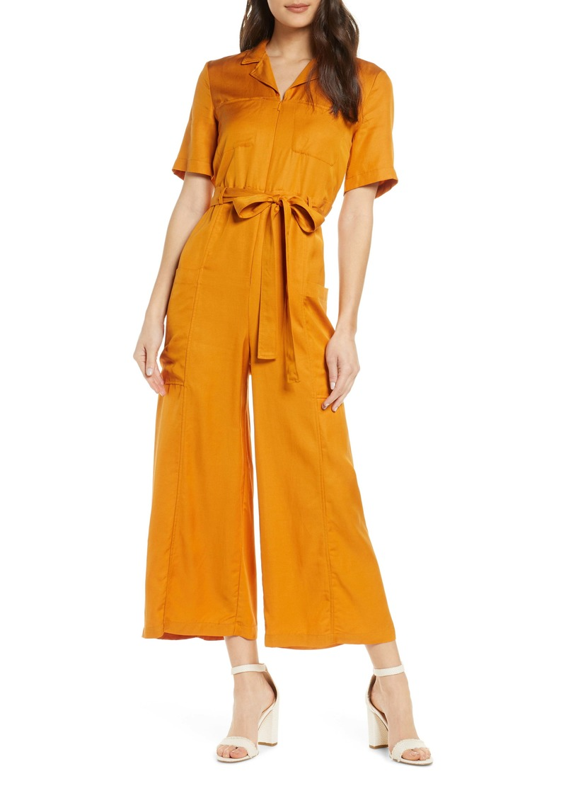 French Connection Enzo Drape Jumpsuit