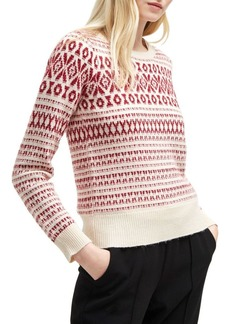 French Connection Esme Fair Isle Sweater