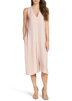 French Connection Essien Crepe Culotte Jumpsuit