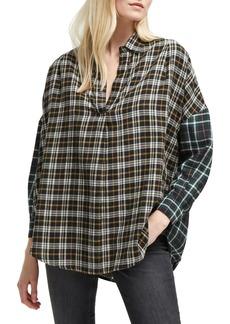 French Connection Este Plaid Cotton Shirt