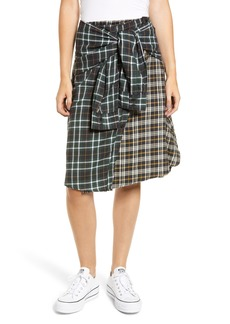 French Connection Este Plaid Skirt