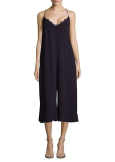 French Connection Esther Crepe Culotte Jumpsuit