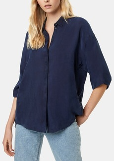 French Connection Etta Oversized Button-Front Shirt