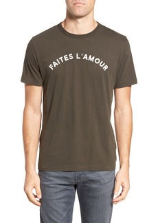 French Connection Faites L'Amour Regular Fit T-Shirt