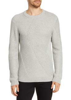French Connection Fashioned Rib Regular Fit Crewneck Sweater