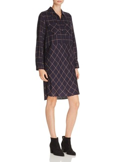FRENCH CONNECTION Fast Darla Check-Print Dress