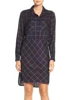 French Connection Fast Darla Plaid Shirtdress