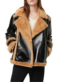French Connection Faux-Shearling Jacket