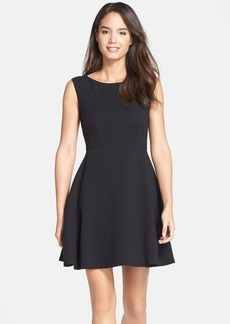 French Connection Feather Ruth Fit & Flare Dress