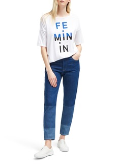 French Connection Feminin Masculin Tee