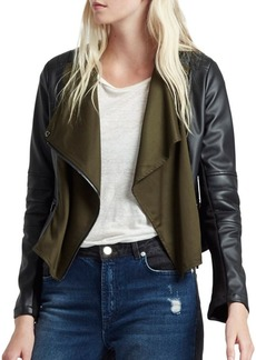 French Connection Filomena Faux Leather Jacket