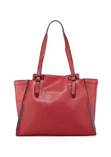 French Connection Finn Faux-Leather Tote Bag