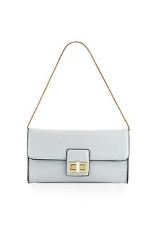 French Connection Fiona Faux-Leather Clutch Bag