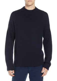 French Connection Fisherman Wool Blend Crewneck Sweater