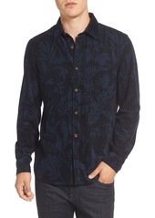 French Connection Floral Corduroy Sport Shirt