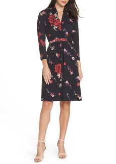 French Connection Floral Faux Wrap Dress