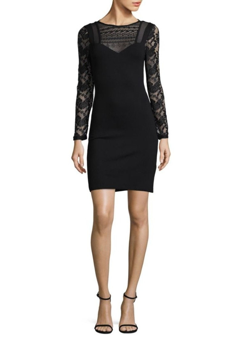 French Connection Floral Lace Sheath Dress