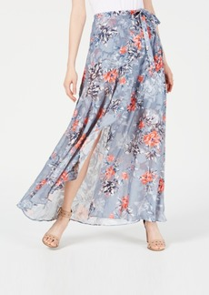 French Connection Floral-Print Maxi Skirt