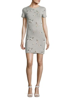French Connection Floral T-Shirt Dress
