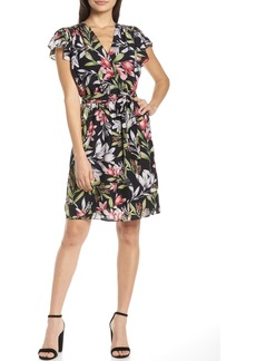 French Connection Floreta Faux Wrap Dress
