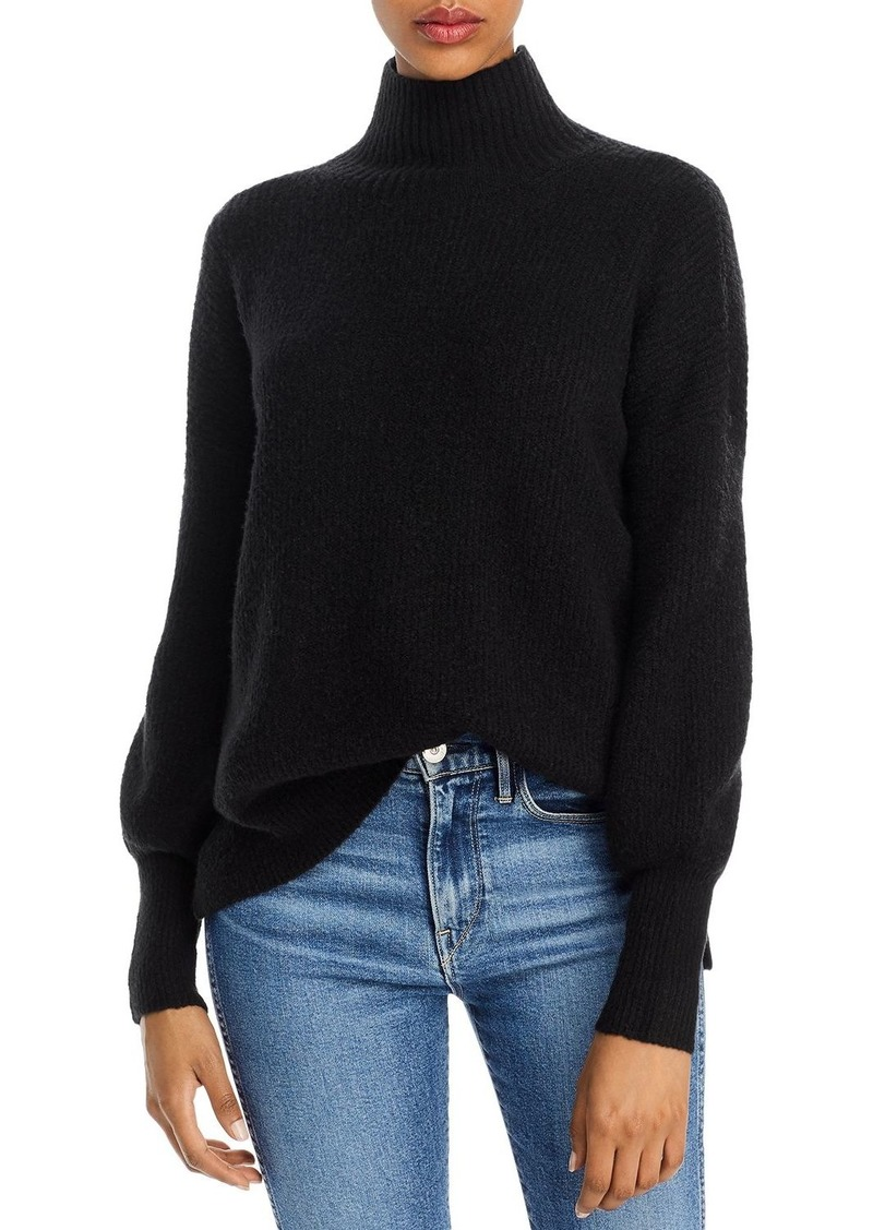 FRENCH CONNECTION Flossy Orla Ribbed Turtleneck Sweater