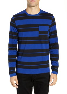 French Connection Fran Varsity Stripe Regular Fit T-Shirt