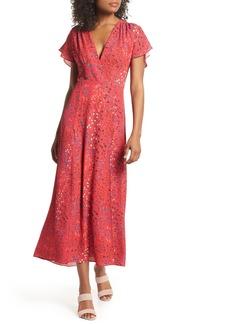 French Connection Frances Drape Maxi Dress