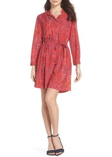French Connection Frances Drape Shirtdress