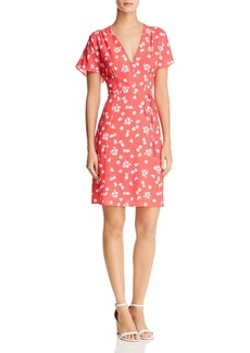 FRENCH CONNECTION Frances Faux-Wrap Floral Dress