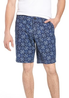 French Connection Franju Floral Cotton Shorts