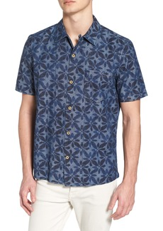 French Connection Franju Floral Slim Fit Woven Shirt