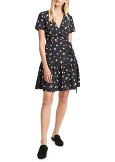 French Connection Frida Armoise Crepe Wrap Dress