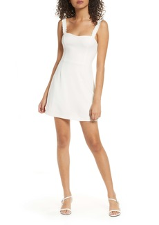 French Connection Frill Strap Minidress