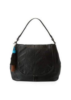 French Connection Gabby Faux-Leather Hobo Bag