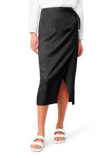 French Connection Gabina Drape Skirt