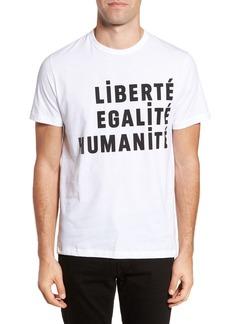 French Connection Égalité Regular Fit Graphic T-Shirt