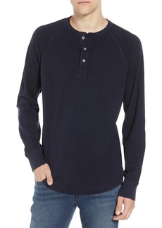 French Connection Garment Dye Slub Henley