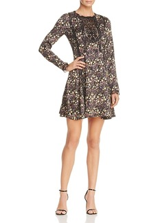 French Connection Hallie Floral-Print Mini Dress