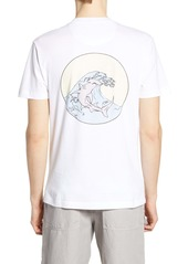 French Connection Hammerhead Circle Graphic Pocket T-Shirt