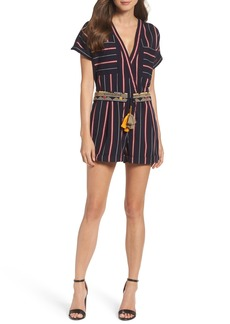 French Connection Hasan Stripe Romper