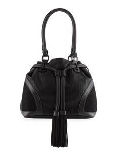 French Connection Heidi Faux-Leather Bucket Bag
