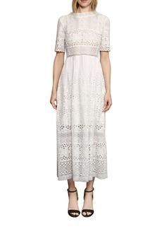 Hesse Broderie Dress