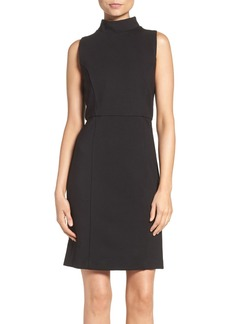 French Connection 'High Line Lula' Ponte Sheath Dress