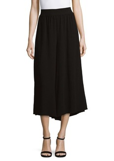 French Connection Hiva Crepe Wide-Leg Pants