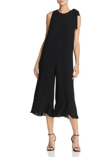 FRENCH CONNECTION Hiva Cropped Wide-Leg Jumpsuit